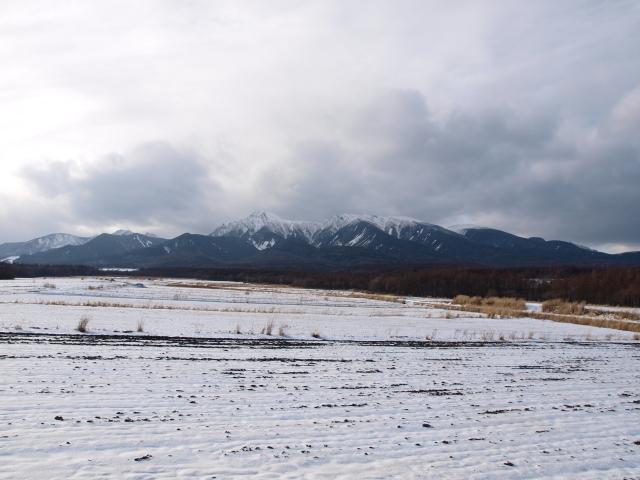 野辺山より雪の八ヶ岳を