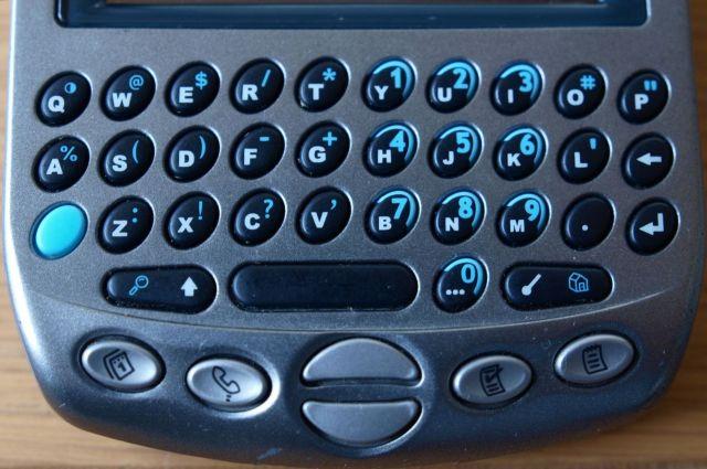 handspring Treo90 keybord