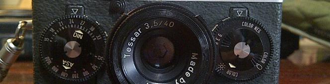 ちょっと古い小物達(Rollei35TE)