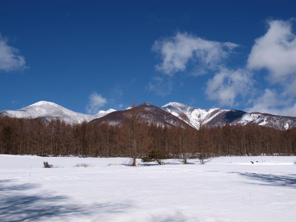 八ヶ岳牧場からの眺め