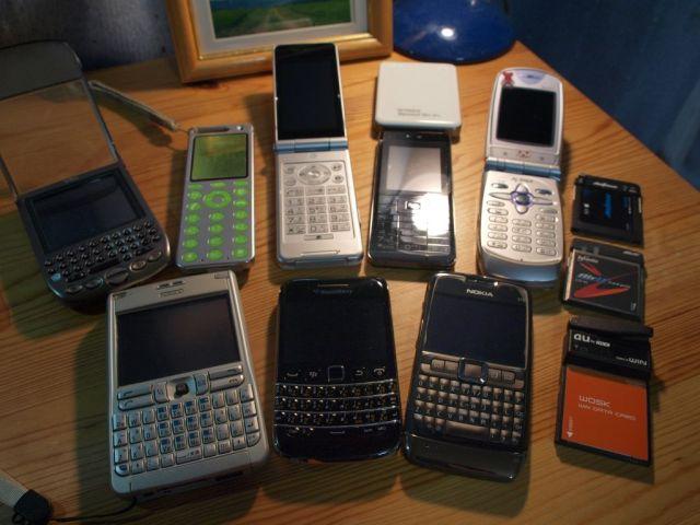 Blackberry9790と散財の仲間たち