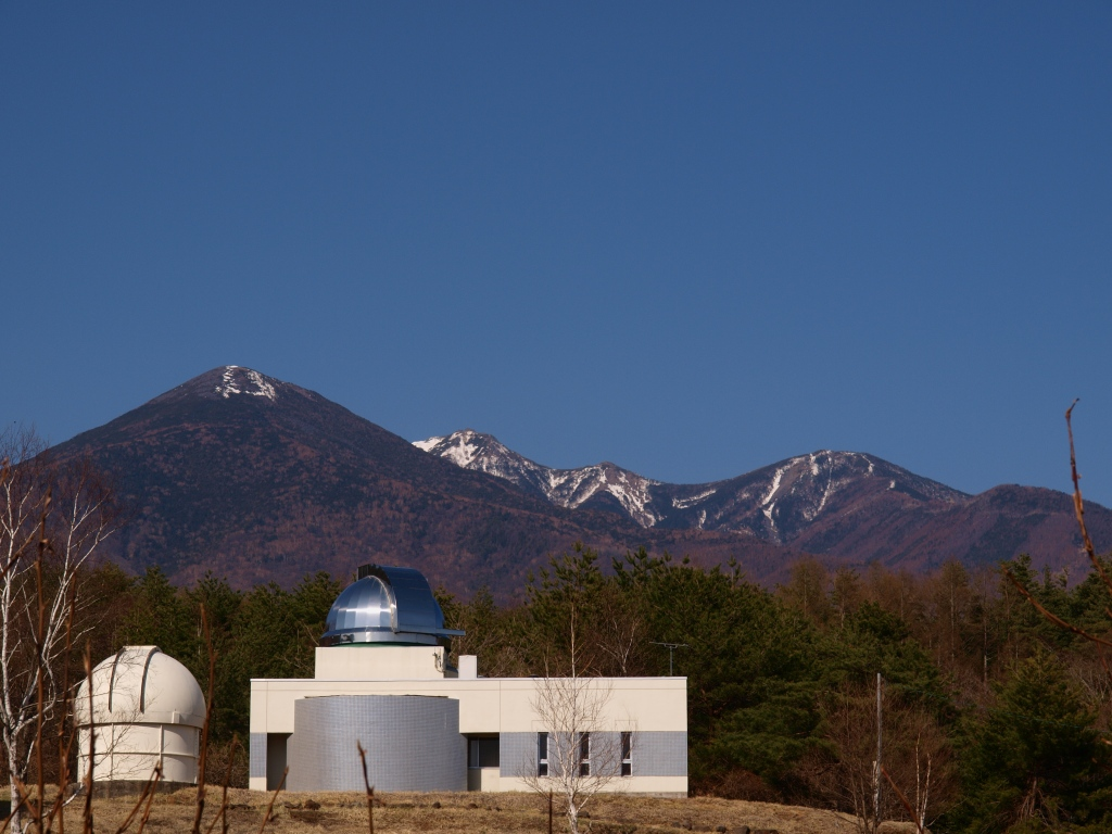 五島光学と八ヶ岳