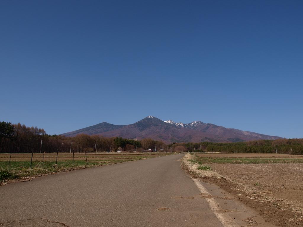 葛窪より八ヶ岳遠景