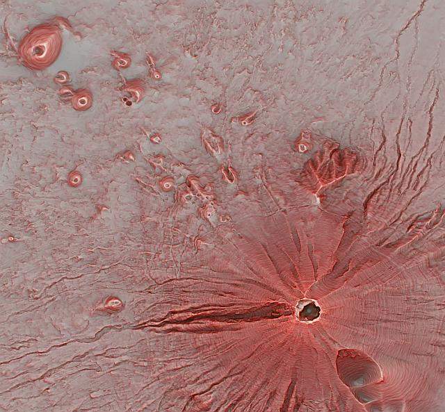 古墳調査や登山用マップに使える「赤色立体地図」 …