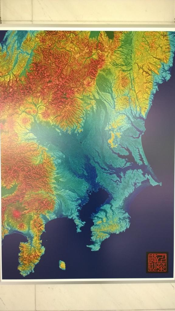 赤色立体地図展5
