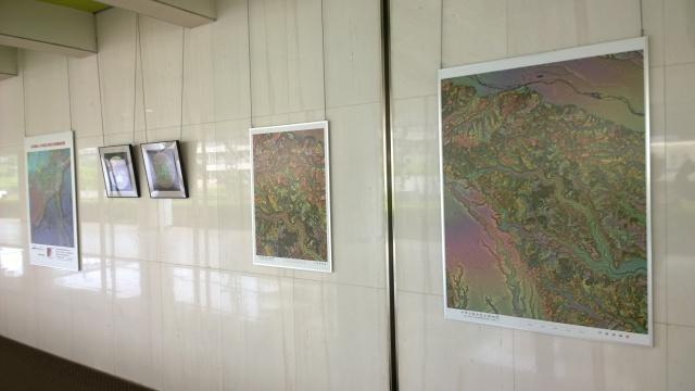 赤色立体地図展2