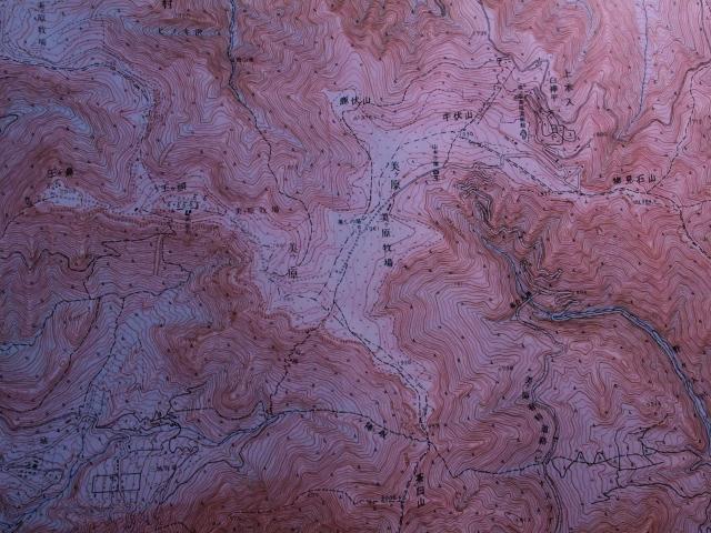 赤色立体地形図美ヶ原アップ