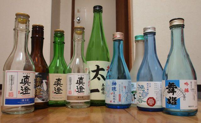 諏訪の酒たち