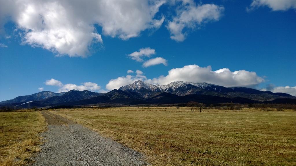 野辺山から初冬の八ヶ岳