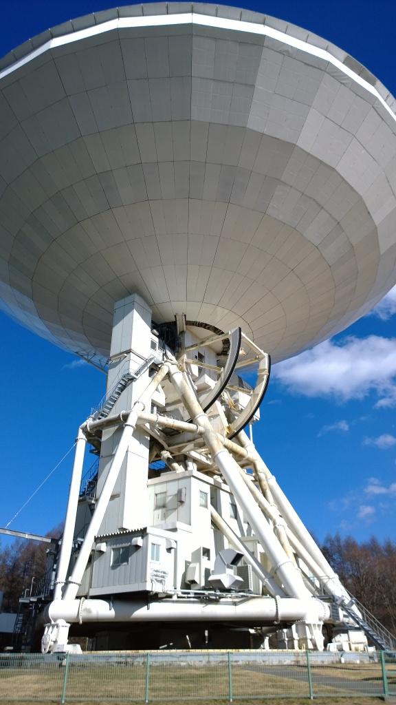 野辺山天文台の45mパラボラ2