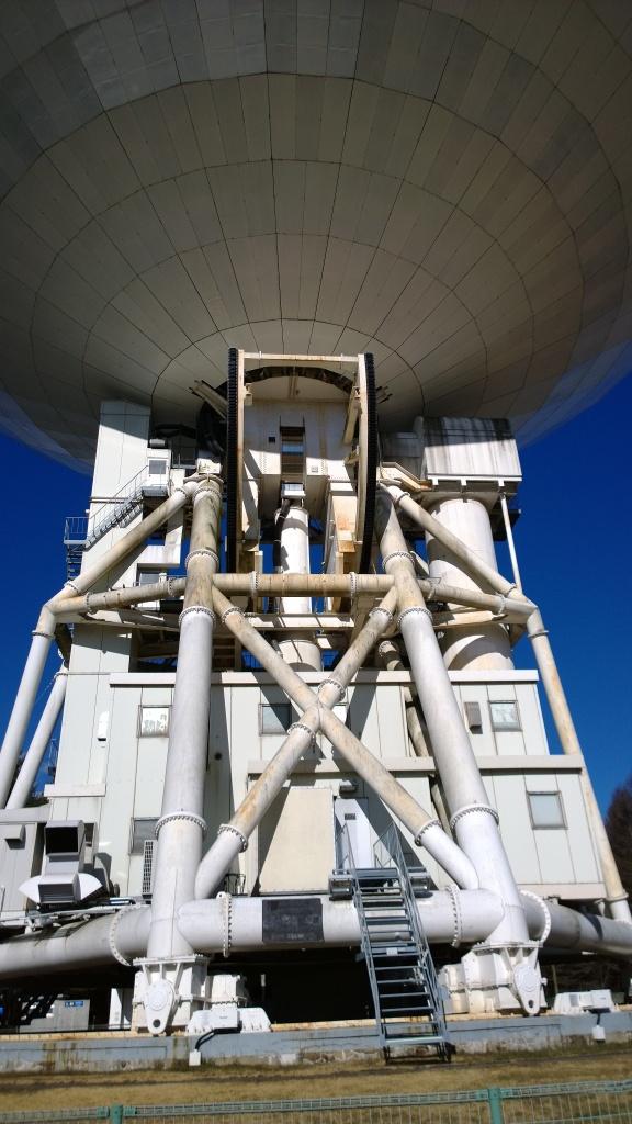 野辺山天文台の45mパラボラ4
