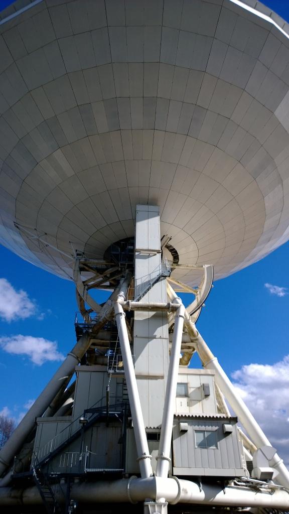 野辺山天文台の45mパラボラ5