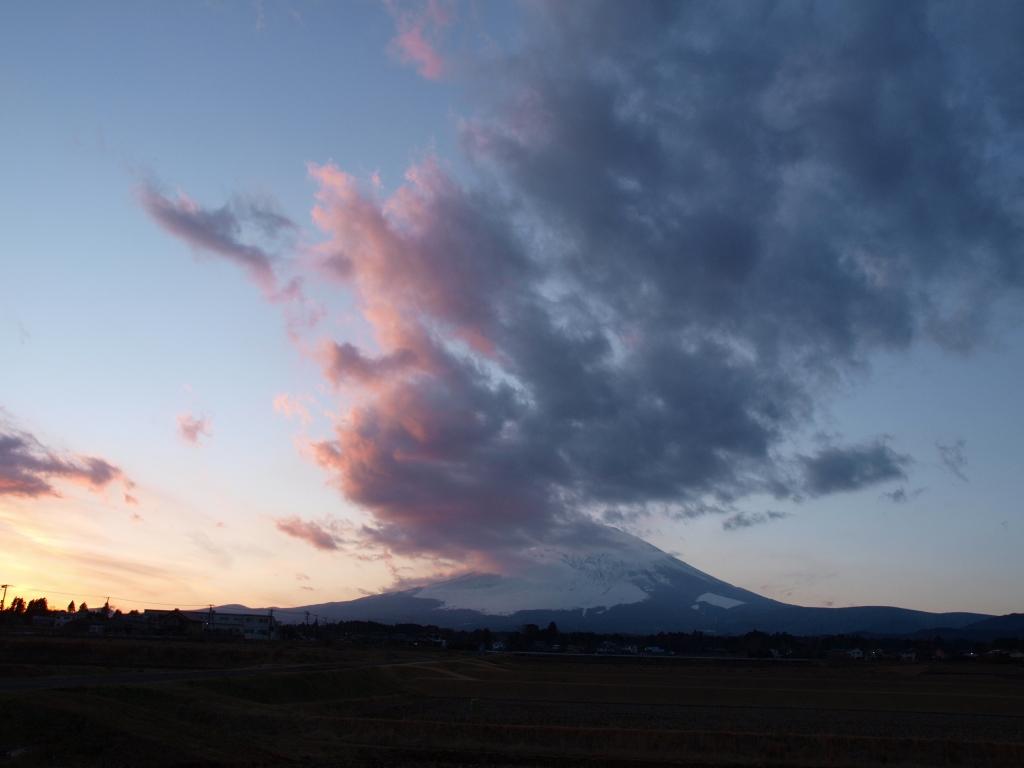 2014新春の富士山夕景(E420)