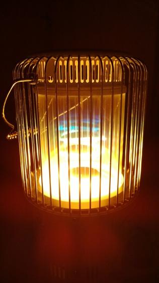 トヨトミストーブレインボー・虹の炎3