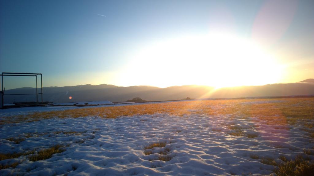雪原に映る黄金色(DNG out)