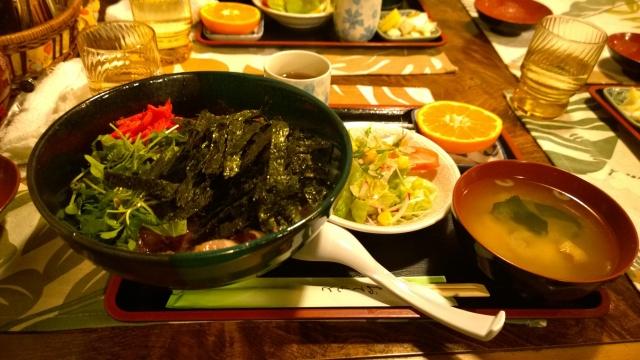寒いけどお得ステーキ丼1