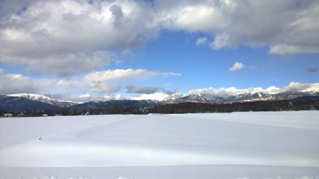 大雪の後で9