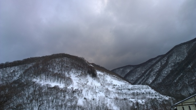 大雪の後で12