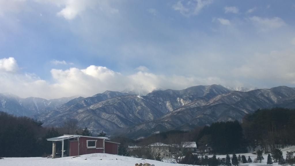 降雪明けの 甲斐駒140310