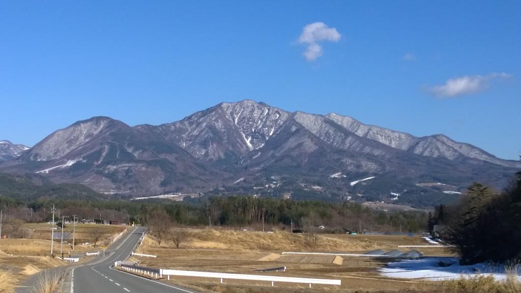 午後の茅ヶ岳