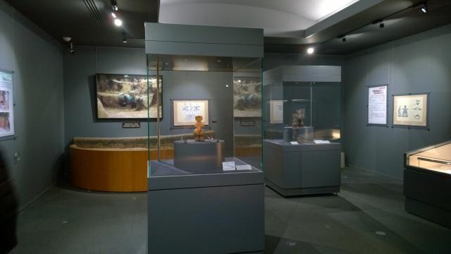 尖石縄文考古館・国宝展示室
