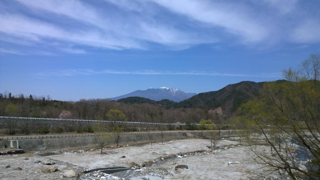 尾白川から八ヶ岳