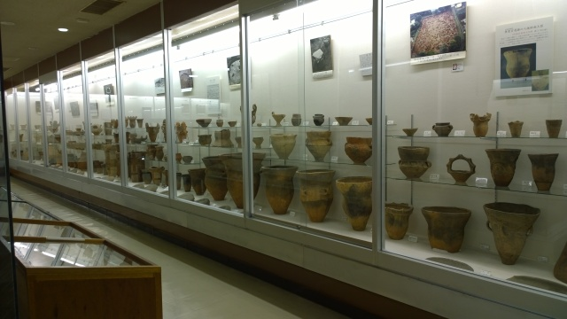 井戸尻考古館の収蔵物