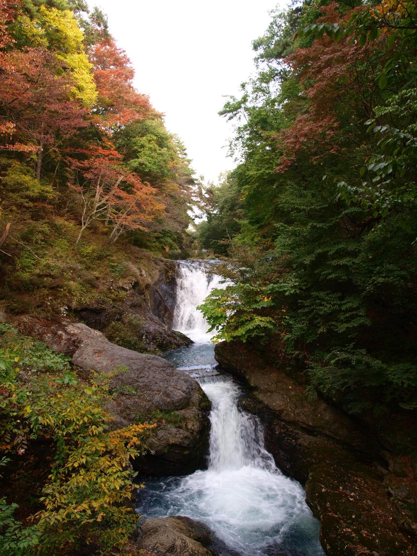 秋の多留姫の滝20141012