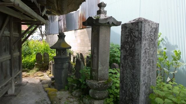 木の間観音堂の六地蔵1