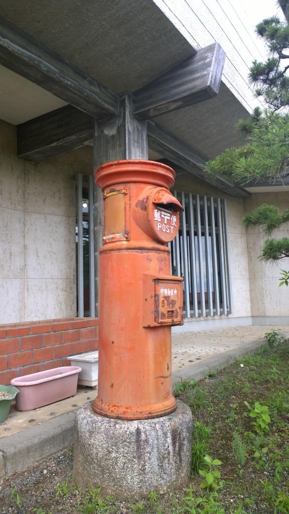 韮崎市民俗資料館・丸ポスト
