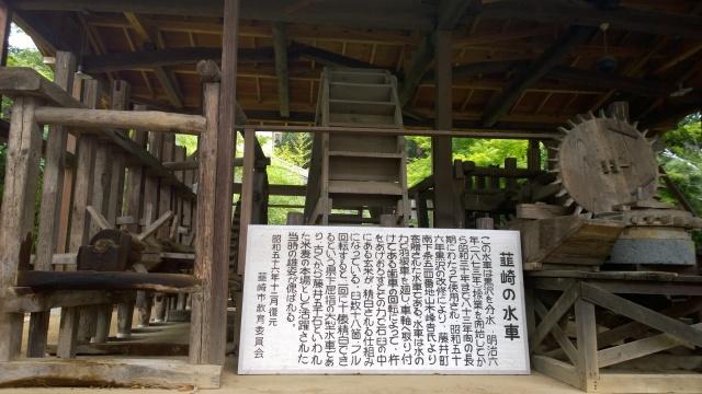 韮崎市民俗資料館・韮崎の水車由来書き