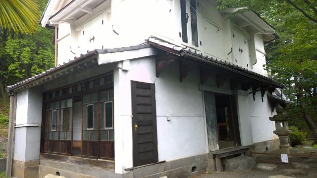 韮崎市民俗資料館・蔵屋敷外観3