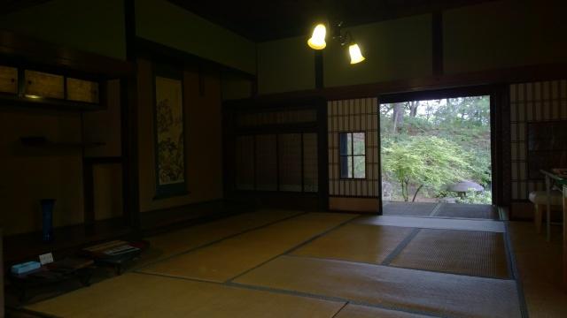 韮崎市民俗資料館・蔵屋敷内部1