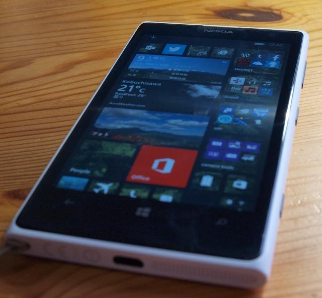 Lumia1020とWindowsphone8.1