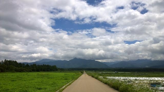 野辺山の夏空