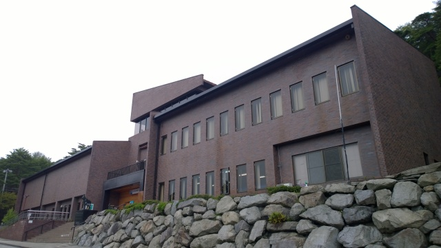 大町山岳博物館外観