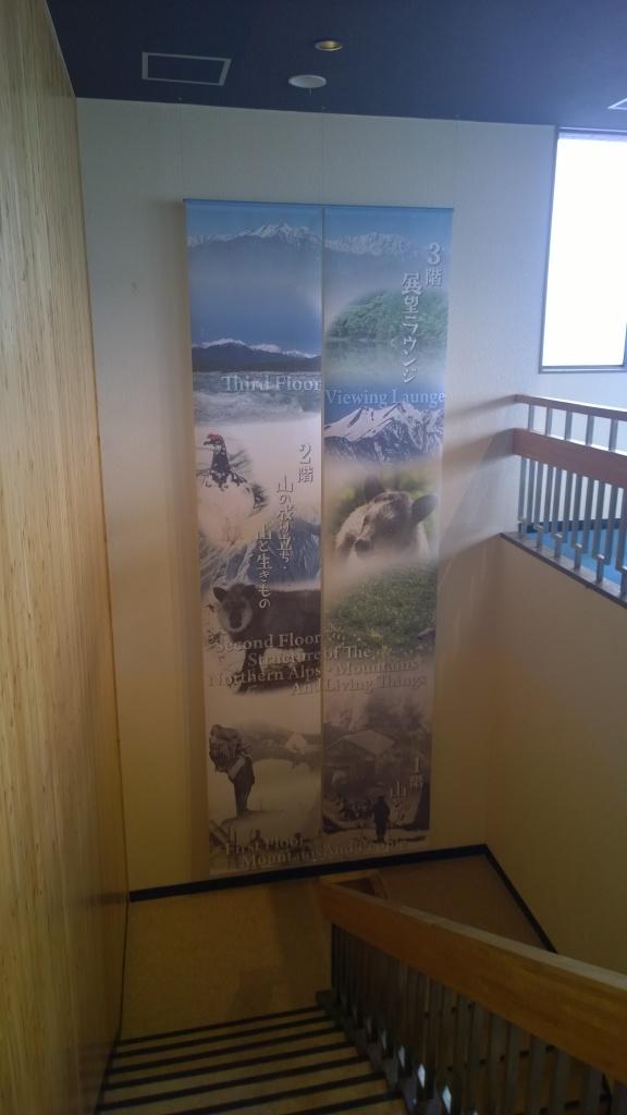 大町山岳博物館館内1