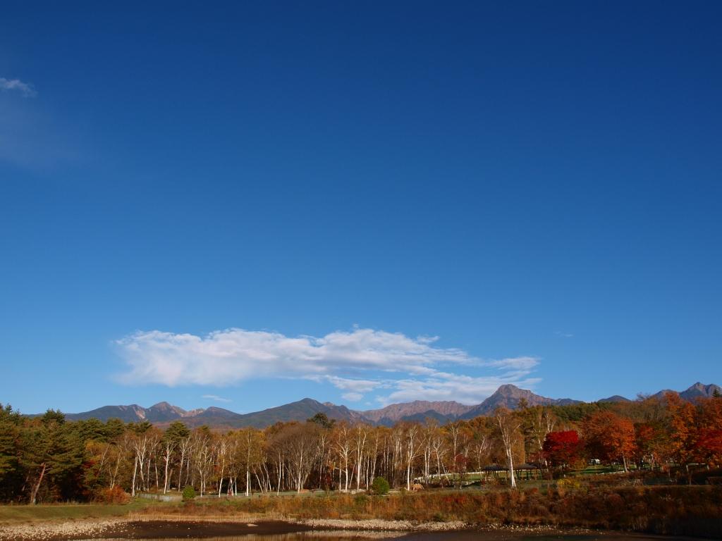 まるやち湖から八ヶ岳連峰を1