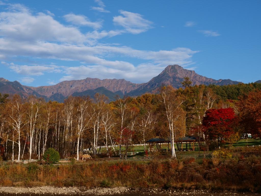 まるやち湖から八ヶ岳連峰を2