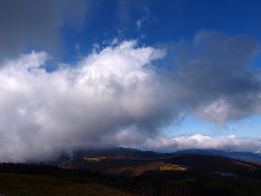 美ヶ原,冬の碧空1