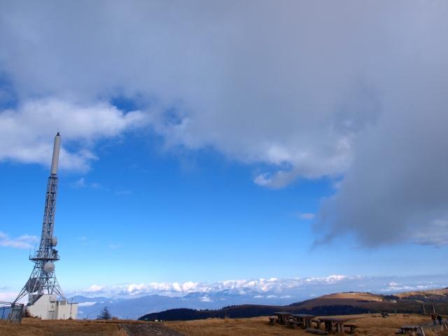美ヶ原,冬の碧空2