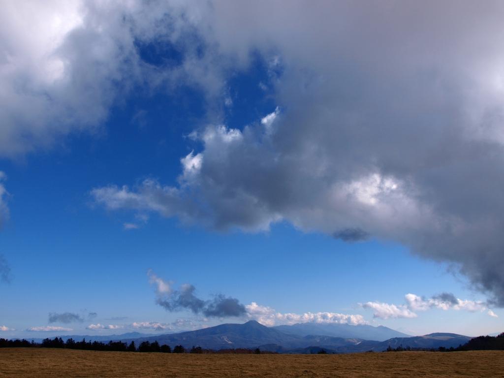 美ヶ原から八ヶ岳遠望
