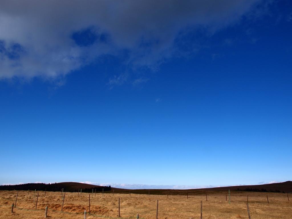 美ヶ原,冬の碧空3
