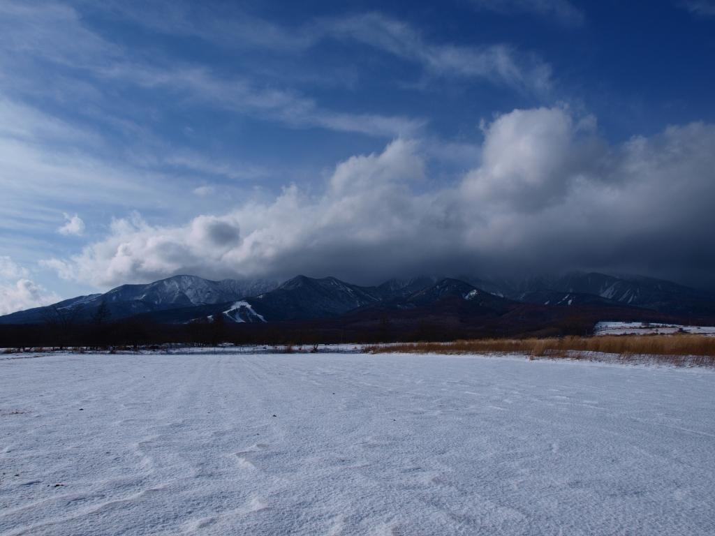 年の瀬の野辺山より八ヶ岳