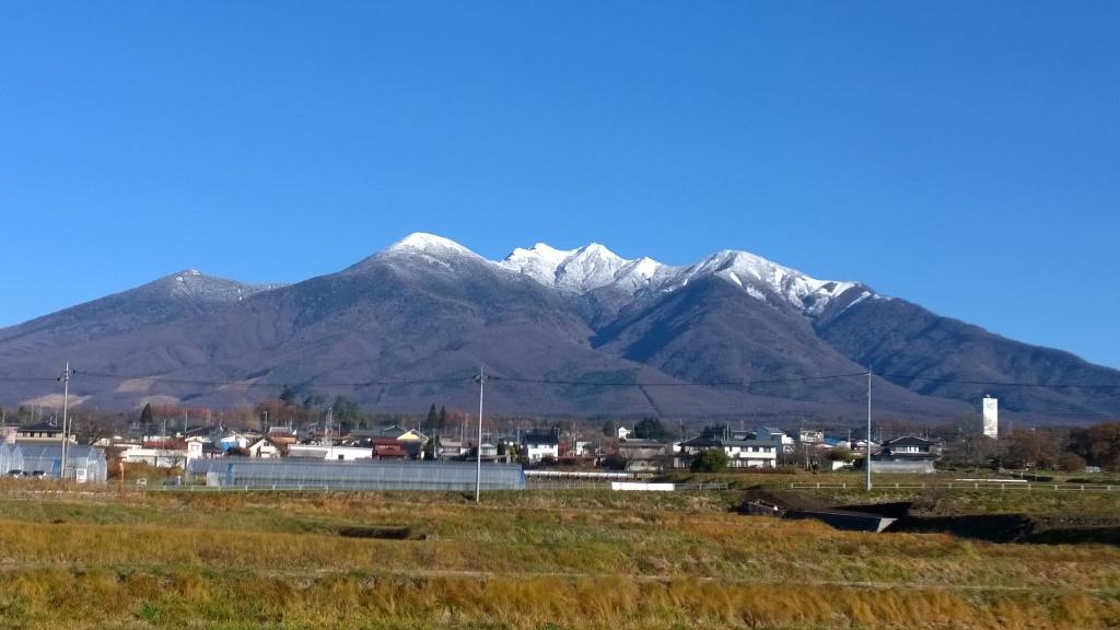 冠雪した八ヶ岳2014.11.27