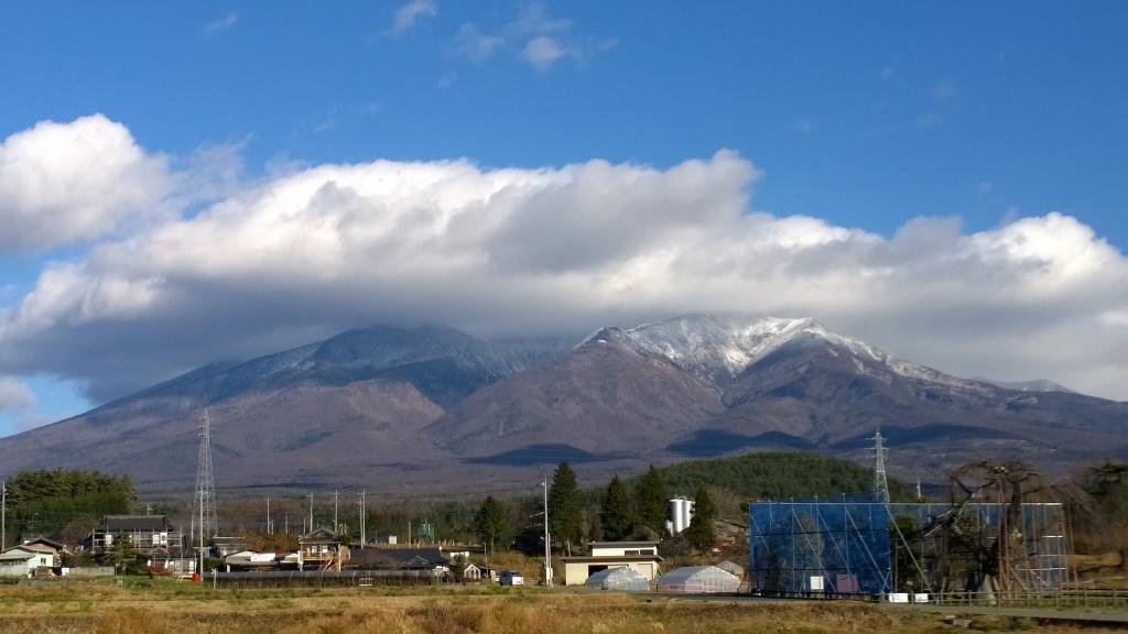 冠雪した八ヶ岳2014.12.3