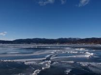 2月:諏訪湖
