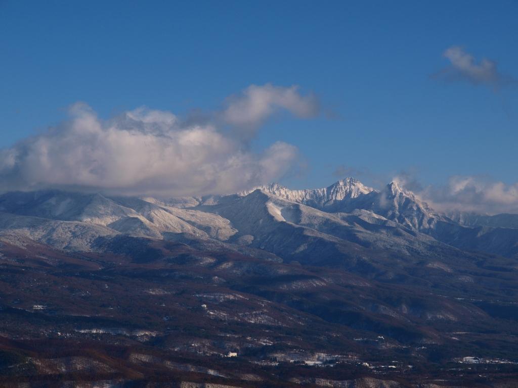 ビーナスラインから赤岳遠望