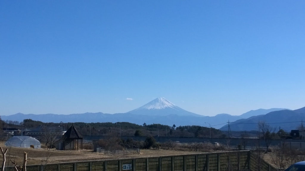 フィフォーレから望む富士山
