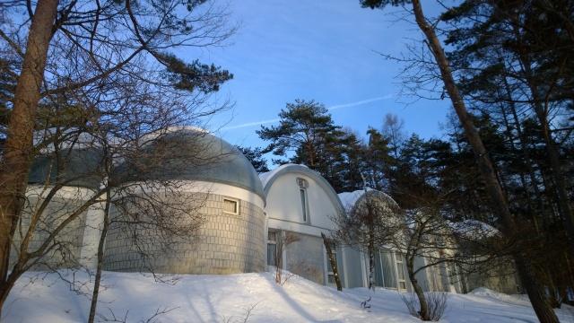 雪の八ヶ岳美術館庭園3